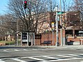 Northbound route 39 bus stop at Perkins Street, March 2016.JPG