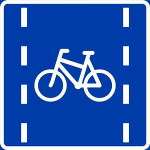 Road signs in Norway - Image: Norwegian road sign 521.1