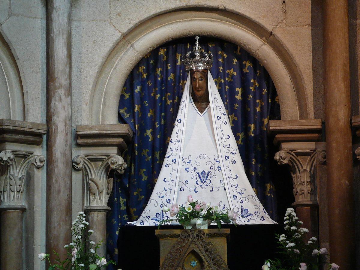 Notre-Dame Dijon Vierge noire