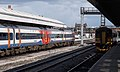 Nottingham railway station MMB A5 158856 158854 153311 153384.jpg