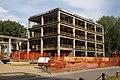 Novi Sad, Liman, výstavba centrální budovy univerzity.jpg
