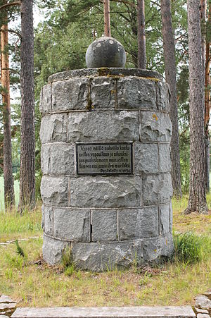 1596 in Sweden - A Cudgel War memorial