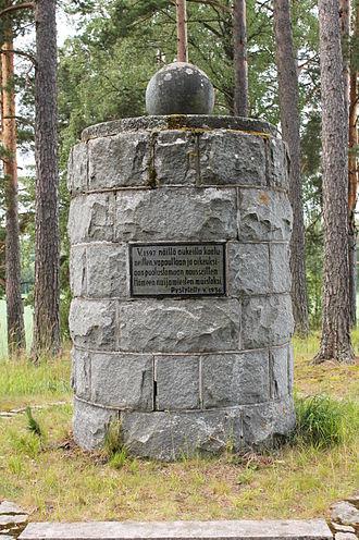 Cudgel War - A Cudgel War memorial