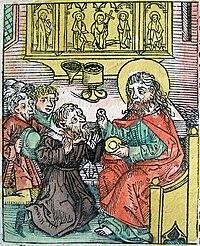 Nuremberg chronicles - Burdinus, Antipope under Pope Calixtus II (CXCVIIv).jpg