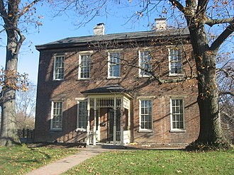 St. Bernard, Ohio - Nurre-Royston House, built 1859