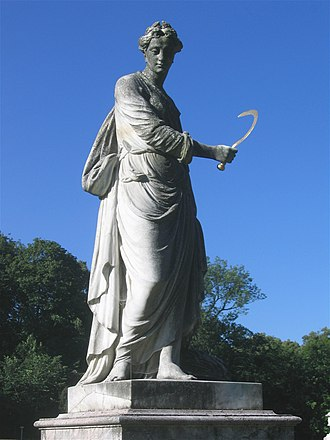 Roman Anton Boos - Image: Nymphenburg Statue 6