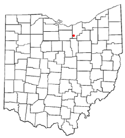 Location of Rochester, Ohio