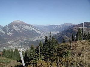 Bonaduz - Upper Rhein valley, from Bonaduz to Chur.