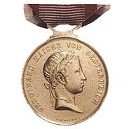 Obverse of the Gold Medal for bravery (Austria-Hungary, 1839-1849, Ferdinand).jpg