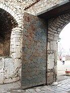 Ohrid Upper Gate close-up