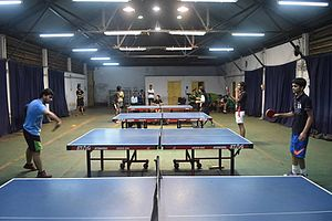 Table Tennis at Old Gymkhana