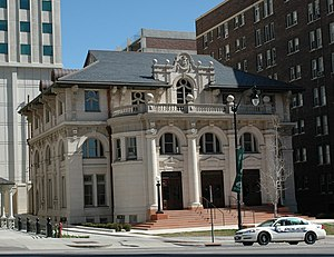 Kidnapping of Elizabeth Smart - The Old Salt Lake City Library, one of several public locations where Smart accompanied her captors