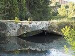 Alte Steinbrücke über den Arapsu-Bach im Stadtteil Arapsuyu in Antalya (Türkei)