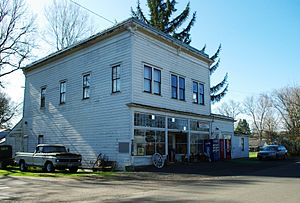 Orenco, Oregon - Former store in the older section of Orenco