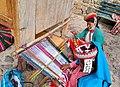 Ollantaytambo Peru- Quechua women weaving.jpg