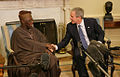 Olusegun Obasanjo with George Bush March 29, 2006.jpg