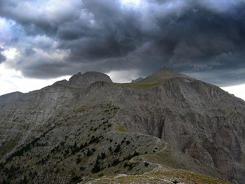 Olympos, Greklands högsta berg