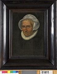 Portret van een vrouw uit de familie Van der Mersch