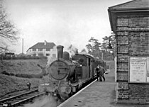 Ongar Station, with push-&-pull train to Epping geograph-2361941-by-Ben-Brooksbank.jpg