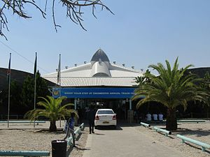 Ongwediva - Queens Hall, Ongwediva fair grounds on the B1 road