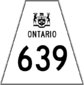 Highway 639 shield