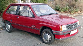 Opel Corsa - Image: Opel Corsa A front 20080131