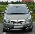 Opel Meriva B 1.4 ECOTEC Innovation front-1 20100907.jpg