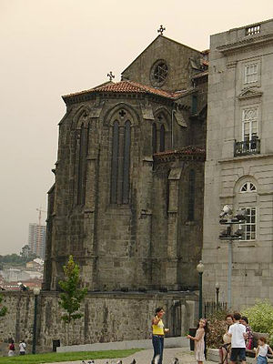 Church of São Francisco (Porto) - Gothic apse of the Church of São Francisco.