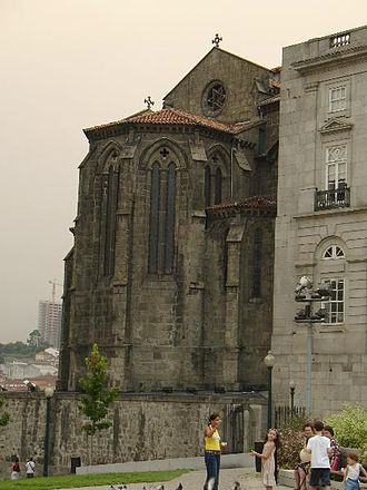 Church of São Francisco (Porto) - Gothic apse of the Church of São Francisco.