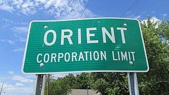 Orient, Ohio - Image: Orient OH1