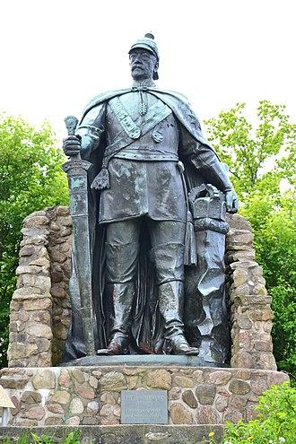 Second Schleswig War - Statue of Otto von Bismarck in Schleswig-Holstein