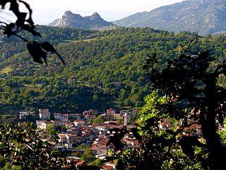Ovodda Comune in Sardinia, Italy