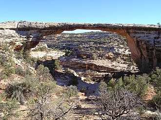 Natural Bridges National Monument - Owachomo Bridge