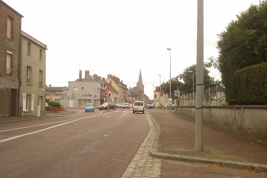 Vue de la ville de fr:Périers