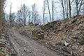 Pörtschach Seeburger Weg Burgruine Leonstein äußeres Tor 22032014 334.jpg