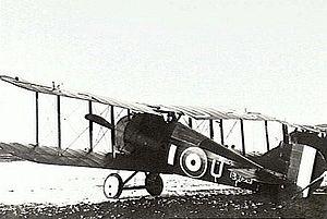 Elwyn Roy King - Image: P00826.128Snipe 1918