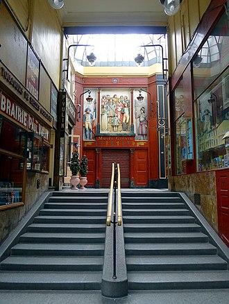 Passage Jouffroy - Image: P1020617 Paris IX Passage Jouffroy Musée Grévin rwk