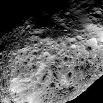 Hyperion (moon) - Image: PIA17194 Saturn Moon Hyperion 20150531