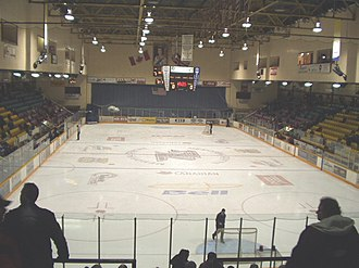 Peterborough Petes - Interior of Peterborough Memorial Centre before renovation