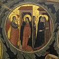 Pacino di bonaguida, albero della vita, 1310-15, da monticelli, fi 23 annunciazione e visitazione 2.jpg