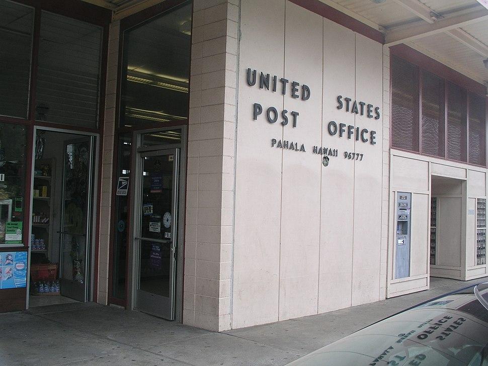 U.S. post office in Pahala