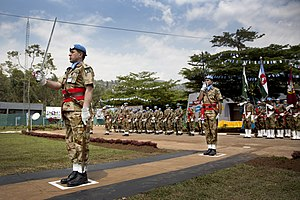 United Nations peacekeeping missions involving Pakistan - Pakistani soldiers supporting MONUSCO.