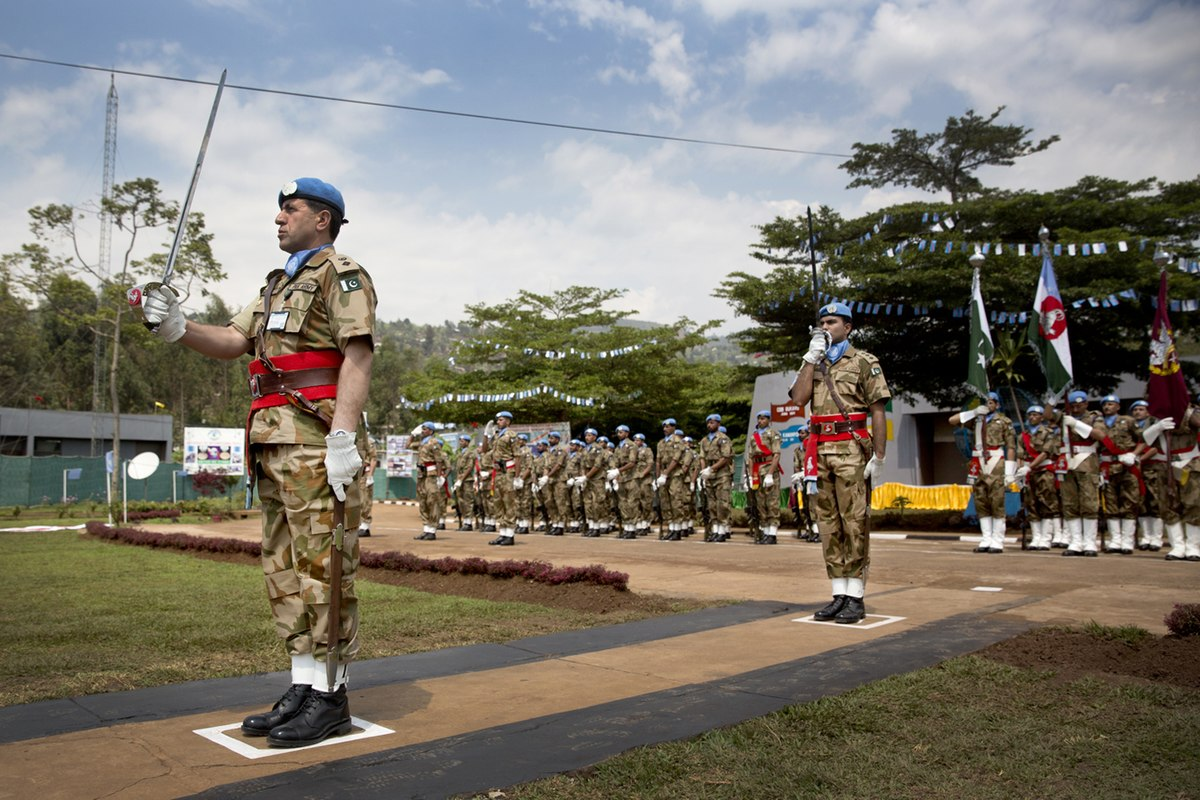 foto de UN peacekeeping missions involving Pakistan Simple