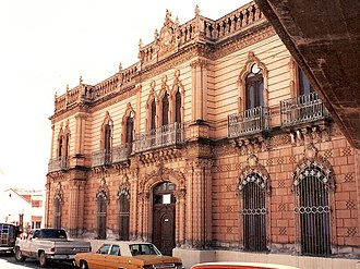 Parral, Chihuahua - The Palacio Alvarado was once the home of one of the wealthiest mining barons in Parral.