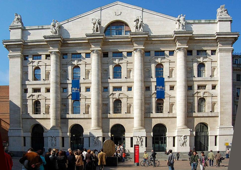Palazzo mezzanotte Milan Stock Exchange