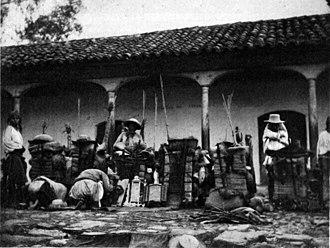 Panajachel - Image: Panapilgrims 1895