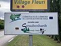 Panneau Jumelage Straubenhardt Route Mâcon St Cyr Menthon 1.jpg