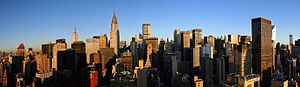 Manhattanization - The island of Manhattan in New York City, United States, from which the term is derived