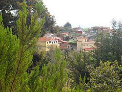 Panorámica de Las Rosas desde lo alto del sendero.JPG