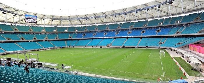 c03d1efff05a7 Arena Fonte Nova, uma das sedes da Copa das Confederações FIFA de 2013 e da  Copa do Mundo FIFA de 2014.